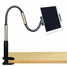 GEEPIN Clamp Mount Tablet Stand for iPad and iPhone, 3.3 Ft Tall Adjustable Arm