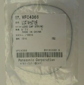 2/Two Camera Front Lens Cap String by Panasonic - VFC4366 - NEW