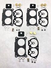 Yamaha 3-PACK Outboard V-6 Carb Carburetor Rebuild Kit 150 175 200 225 HP 86-95