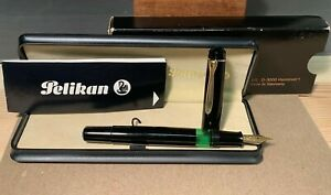 Pelikan M300 Vintage Fountain Pen Unused Mint W/ Boxes & Paperwork NO RESERVE