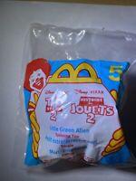 Disney Toy Story 2 1999 McDonalds Happy Meal Little Green Alien #5 New Rare