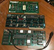 Vintage Apple II ][ cards - 3 count (Grappler printer, Z80 card, video card)