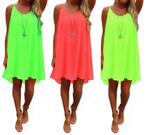Women Party Evening Cocktail Short Mini Dress Summer Sleeveless Dress Plus Size