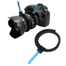 Adjustable Rubber Follow Focus Gear Ring Durable With Aluminum Grip  Universal