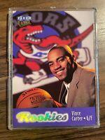 1998-99 Fleer Ultra Vince Carter Rookie Card RC