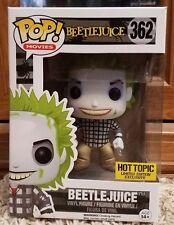 Beetlejuice Hot Topic Exclusive POP Vinyl by FUNKO