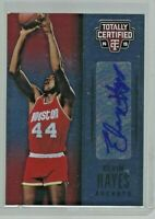 2014-15 Panini Totally Certified Signatures/49 #TCS-EH Elvin Hayes Auto Card