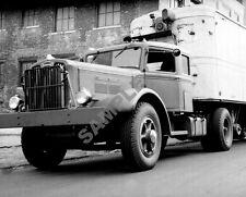"1940's Autocar Diesel Semi Truck and Trailer Rig 8""x 10"" Photo 36"
