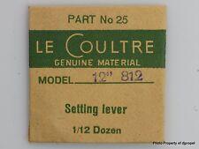 Jaeger LeCoultre Set Lever Cal. 812 Part #443 25