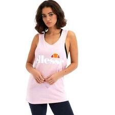 New listing Ellesse Women's Vest Top Abigaille Core Fashion Athletics Logo Printed Clothing