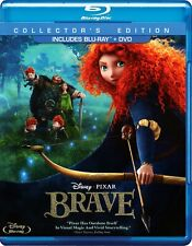 Disney*Pixar's Brave (Blu-ray/DVD, 2012, 3-Disc Set, Collectors Edition)