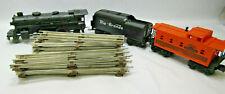 Lionel Train Lot 8903 Engine & Chugger Rio Grande 9077 Caboose & O27 Tracks
