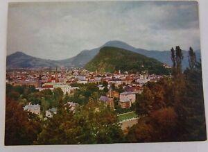 Panoramic View of Salzburg Austria Color Postcard Gastschloss Monchstein