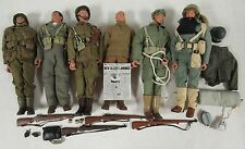 """Lot (6) 12"""" Dragon DID 21st Century Toys 1:6 Scale Soldiers W/ Accessories Y512"""
