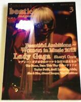 beatleg 3/2012 Japan Music Magazine Lady Gaga Sheryl Crow Avril Lavigne Beyonce