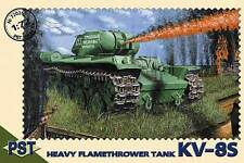 1/72 WWII KV-8S Heavy Flame Thrower Tank  PST 72026 Models kits