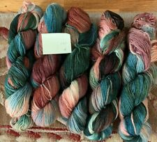 5 Skeins wool yarn for Preworked Needlepoint crafts or any other project