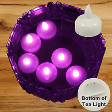 New 36 Pink Led Floating Floral Tea Light Candle for Wedding Centerpiece Decor