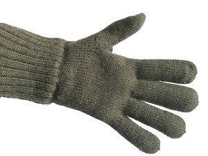 100% Merino Wool Military Gloves by Dachstein Woolwear from Austria