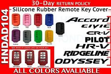 Honda W/PUSH START Smart Silicone Rubber Key Remote Cover 104