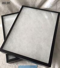 "#360 (5) Riker Shadow Box Frame Crafts Military Medal Fire 16"" x 12"" X 2"""