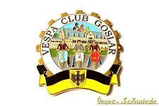 """METALLO-PLACCA """"VESPA CLUB Goslar"""" - Club Germania emblema SMALTO v50 GL TS"""