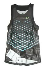 PEARL IZUMI Pro INRCOOL Triathlon Singlet Mens 13121401 BLACK/BLUE $135 Sz Sm