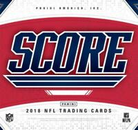 2018 Score NFL Football Jersey Cards Pick From List (All Versions Included)