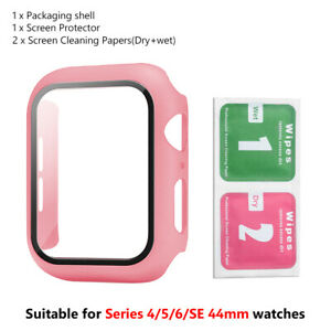 38/40/42/44mm Screen Protector Snap On Cover For iWatch Series 6/5/4/3/2/1/SE A