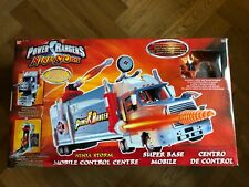 Power Rangers Ninja Storm Mobile Control Centre Super Base Force Cyclone MINT