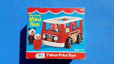 BOITE - Fischer Price n°141 - Play Family Mini Bus - 1970/1977