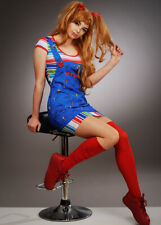 Teen Size Childsplay Cute Chucky Girl Costume