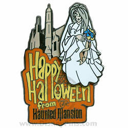 Disney The Haunted Mansion Leota Pin