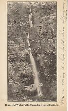 1908 Water Falls, Cascadia Mineral Springs 8828
