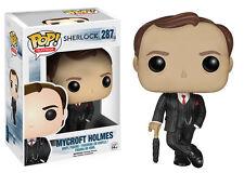 "Funko Pop TV Sherlock: Mycroft Holmes Vinyl Action Figure Collectible Toy, 3.75"""