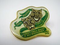 Vintage Collectible Pin: Bahia 1996 Robert Cramer Potentate Comedy Tragedy