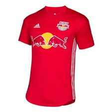 New York Red Bulls MLS Adidas Men's Red Climacool Authentic On-Field Jersey