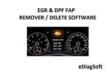 EGR & DPF FAP REMOVER / DELETE SOFTWARE EGR PACK SOLUTION