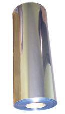 "20""x10ft Heat Transfer Vinyl chrome Mirror Finish Silver like foil for cutter"