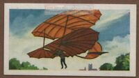 Otto Lilienthal Gliding Machine German Aviation Pioneer  Vintage Trade Ad Card