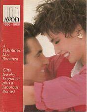 1986 Vintage Antique AVON Sales Catalog Book Brochure Campaign 3