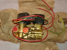 """ASCO - 1/4"""" INCH - 4 WAY ELECTRONIC SOLENOID VALVE - EF8344G44 *NEW OLD STOCK*"""