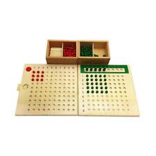 Montessori Mathematics Maths Bead Board Multiplication&Division Educational