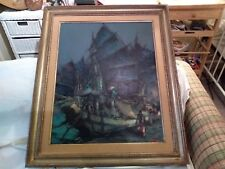 JUNK             LUCIEN FRITS OHL             OIL PAINTING