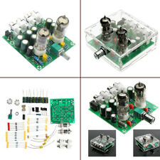 6J1 Valve Pre-amp Tube Board DIY KIT AC 12V Headphone Buffer&Case BSG
