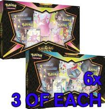 Colección de Pokemon Shining Fates Premium Box Set Estuche Sellado de fábrica de 6!! nuevo!!