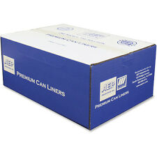 Webster Premium Trash Can Liners  250 bags /case 40 -50 gallons  clear color