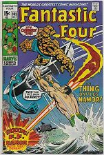 Fantastic Four #103 (Marvel 1970) VF-: Magneto/Sub-Mariner