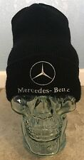 Mercedes Benz Logo Black Beanie Twin City Knitting Company Cap Auto Advertising