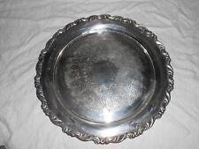 """Oneida silversmiths Georgian scroll tray  15"""""""